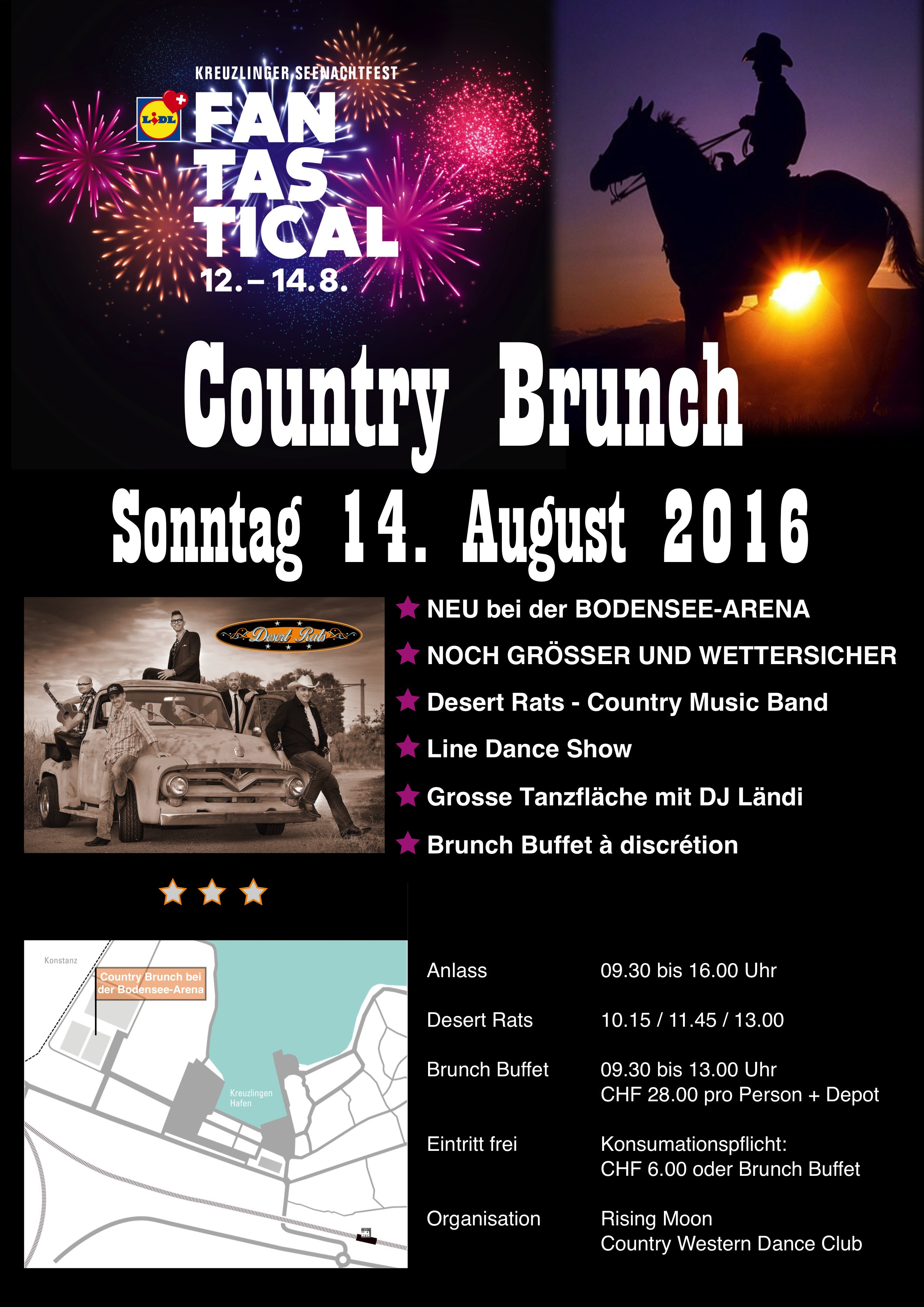 Country Brunch Plakat 2016